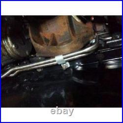 00-02 Jeep Wrangler Transmission lines oil cooler lines Stainless Steel