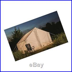 10 X 10 4-6 Person Canvas Wall Deer Hunting Guide Outfitter Tent With Stove Hole