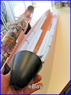 172 Permit Class Fiberglass RC Submarine, Kit Model, WTC, almost ready to sail