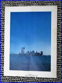 1972 World Trade Center In Construction Alcoa Aluminum Promotional Booklet