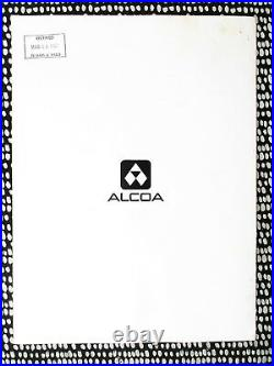 1972 World Trade Center In Construction Alcoa Aluminum Promotional Booklet