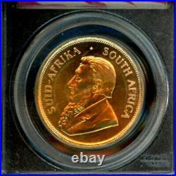 1975 Gold 1 oz S Africa Krugerrand 9-11-01 WTC Ground Zero Recovery PCGS Gem UNC