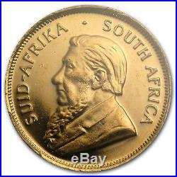 1980 South Africa 1/2 oz Gold Krugerrand MS-67 PCGS (WTC) SKU#77846