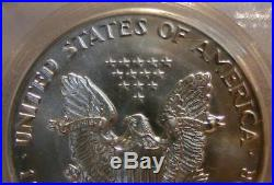 1987- 1 Ounce Silver Eagle 9-11-01 Ground Zero Recovery World Trade Center