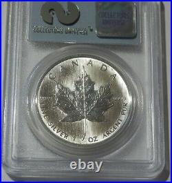 1989 $5 SILVER Maple Leaf GEM UNC 9-11-01 WTC GROUND ZERO RECOVERY 1 oz