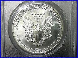 1989 Ase 9-11 American Silver Eagle Wtc Ground Zero Recovery Scarce 911