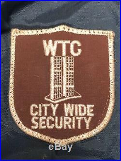 1990's World Trade Center Security Jacket