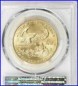 1991 $50 American Gold Eagle PCGS MS70 WTC 9-11-01 Ground Zero Recovery