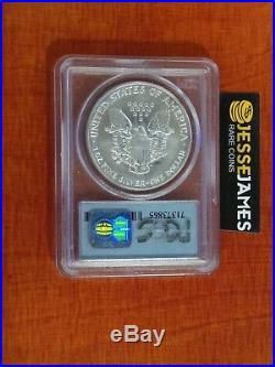 1991 Silver Eagle Pcgs Ms69 World Trade Center Wtc Recovery 9/11