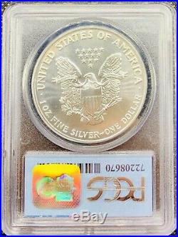 1991 WTC American Silver Eagle MS69 PCGS 9-11-01 Ground Zero 1 oz Recovery Coin
