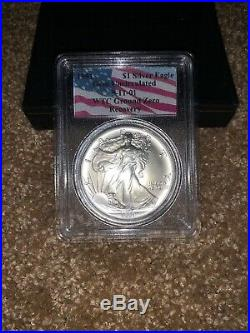 1991 WTC American Silver Eagle PCGS 9-11-01 Ground Zero 1 oz Recovery Coin