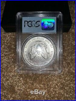 1991 WTC American Silver Eagle PCGS 9-11-01 Ground Zero 1 oz Recovery Coin