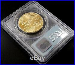 1993 $50 Gold Eagle, PCGS 9-11-01 WTC Ground Zero Recovery, Gem Uncirculated