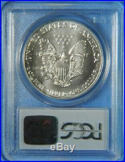 1993 9-11 WTC Ground Zero Recovery American Silver Eagle PCGS GEM Uncirculated