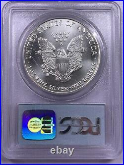 1993 PCGS Gem Uncirculated American Silver Eagle WTC 9/11 Memorial Ground Zero