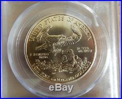 1997 American Gold Eagle 1 oz $50 PCGS MS69 WTC Ground Zero Recovery 9/11