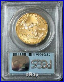 1997 Gold $50 Eagle 1 Oz Wtc Ground Zero Recovery Pcgs Mint State 69