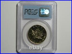 1998 $50 Canada Maple Leaf 1 oz Gold 9999 WTC Ground Zero Recovery 9-11 PCGS