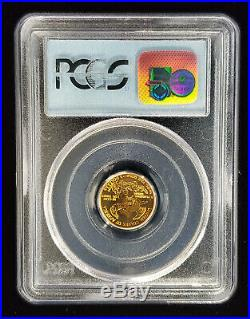 1998 $5 1/10 Gold Eagle PCGS Gem Uncirculated 9-11-01 WTC Ground Zero Recovery