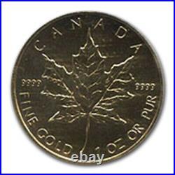 1998 Canada 1 oz Gold Maple Leaf PCGS (World Trade Center) SKU #50302