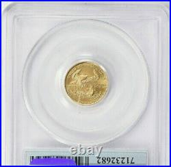 1999 1 of 1000 $5 AMERICAN GOLD EAGLE 911 WTC GROUND ZERO RECOVERY PCGS MS69