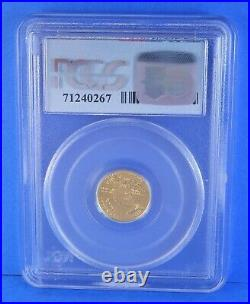 1999 $5 Gold Eagle MS69 WTC Ground Zero Recovery 1 of 1000 Certified PCGS 1/10oz