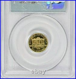 1999 911 Austria Gold Schilling Wtc Ground Zero Recovery Pcgs Gem