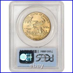 1999 American Gold Eagle 1 oz $50 PCGS MS69 WTC Ground Zero Recovery