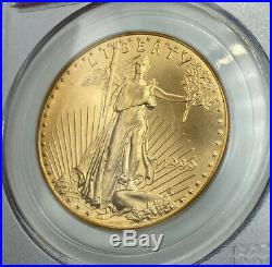 1999 PCGS MS69 $50 Gold Eagle WTC Ground Recovery
