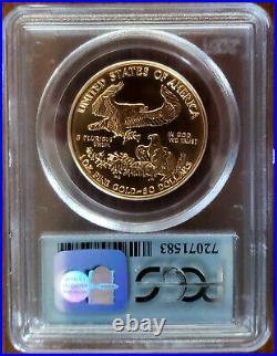 1999 Pcgs Ms69 $50 Gold Eagle World Trade Center 911 Ground Zero Recovery Wtc