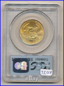 1999 WTC 9-11-01 PCGS MS69 $25 GOLD Eagle Ground Zero Recovery