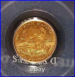 1999 WTC PCGS MS69 1 of 1000 $5 Gold Eagle Ground Zero Recovery World Trade 9/11