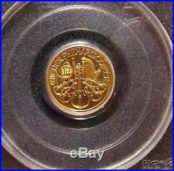1999 WTC Recovery Austrian 200 Schilling Gold PCGS Gem World Trade Center 9/11