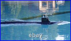 1/144 RTR RC USS SSN21 Seawolf Sub Model Kit+WTC+Painting (not included radio)