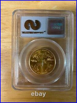 1/2oz 2001 $25 WTC Recovery Gold Eagle PCGS 1 of 531 Gem Uncirculated Bullion
