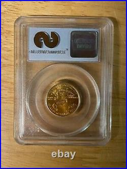 1/4oz 2001 $10 WTC Recovery Gold Eagle PCGS 1 of 531 Gem Uncirculated