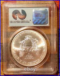 1 Of 150 Rare Wtc Trade Center Recovery Coin Silver 9/11/01 Pcgs Us Eagle 2001