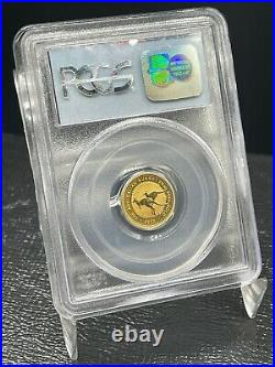 2000 $15 1/10 oz AUSTRALIAN KANGAROO WTC GOLD 911 GROUND ZERO RECOVERY PCGS