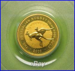 2000 1/10 oz Australia $15 Gold 9-11-01 WTC Ground Zero Recovery PCGS Gem BU