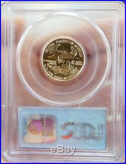 2000 1/4 oz $10 American Gold Eagle Gem Unc PCGS (WTC Ground Zero)