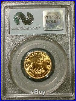 2000 1/4 oz GOLD 911 SOUTH AFRICA KRUGERRAND WTC GROUND ZERO RECOVERY PCGS