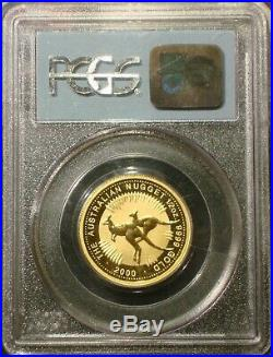 2000 $50 1/2 oz AUSTRALIAN KANGAROO GOLD 911 WTC GROUND ZERO RECOVERY PCGS