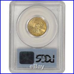 2000 American Gold Eagle 1/4 oz $10 PCGS Gem Unc WTC Ground Zero Recovery