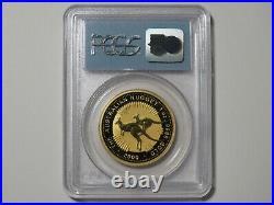 2000 Australia $100 Nugget 1 oz Gold 9999 WTC Ground Zero Recovery 9-11 PCGS