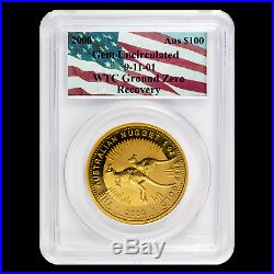 2000 Australia 1 oz Gold Nugget Gem Unc PCGS (WTC Ground Zero) SKU#189191