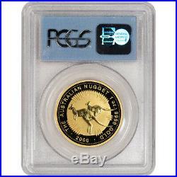 2000 Australia Gold Kangaroo Nugget $100 PCGS Gem Unc WTC Ground Zero Recovery
