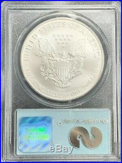 2000 Silver Eagle PCGS Gem Uncirculated WTC Ground Zero Recovery USA