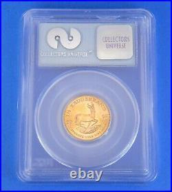 2000 WTC 911 Ground Zero Krugerrand 1/4 Oz Gold Coin South Africa GEM UNC PCGS
