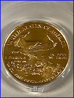 2001$10 Gold Eagle Gem Uncirculated 9-11-01 WTC Ground Zero Recovery 1 of 531