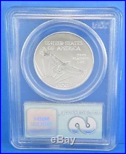 2001 1 of 190 $100 Platinum 1 Troy Ounce World Trade Center PCGS GEM UNC Coin